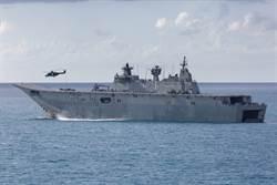 漁船雷射攻擊 澳軍直升機南海迫降