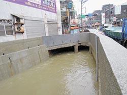 東門溪整治成功 豪雨不淹水