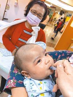 輪狀病毒疫苗補助 中低收入戶嬰兒優先