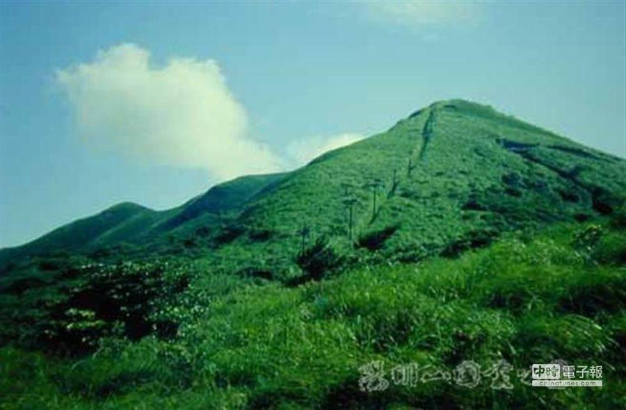 圖為大屯火山。(取自陽明山國家公園網頁)