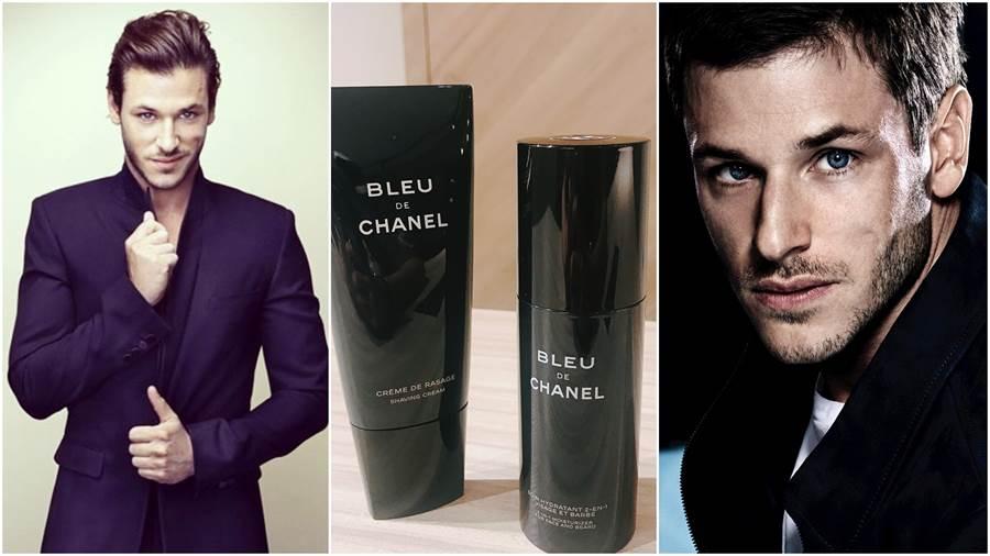 法國天菜鮮肉賈斯柏‧尤利 (GASPARD ULLIEL)最愛的兩款刮鬍新品:CHANEL藍色男性刮鬍霜和藍色男性全效乳液
