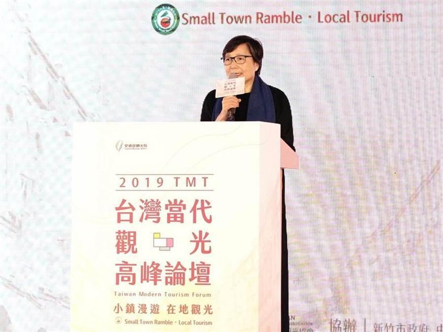 台灣觀光協會會長葉菊蘭表示,台灣觀光需要政府民間共同努力。(圖/台灣觀光協會)