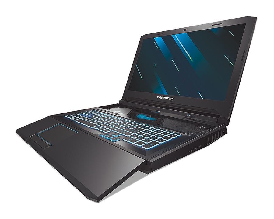 宏碁Predator Helios 700電競筆電,預計定價約10萬到12萬元不等,今年第3季上市。(宏碁提供)