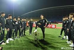 熊貓盃足賽 韓奪冠踩獎盃撒尿惹怒大陸