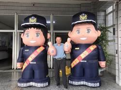 振坤宮媽祖出手相助 警察寶寶也換新裝