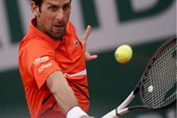 法網》球王喬科維奇連續14年進32強