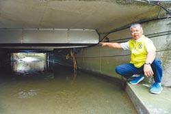 橋涵管線釀水患 國營事業要打屁股