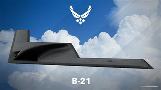 美空軍終極暗黑計劃 新B21隱形轟炸機秘密起造