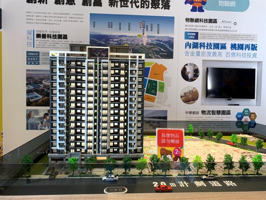 「耀台北」位在樂善科技園區首排。