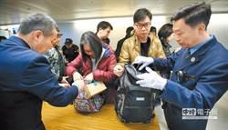 北韓爆發非洲豬瘟 31日起南韓來台手提行李全面檢查