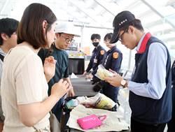 北韓爆豬瘟 南韓來台旅客全面檢查手提行李