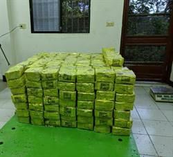 投檢破獲越南進口茶葉 夾帶400公斤安非他命