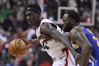 NBA》席亞卡爆發 暴龍強壓勇士摘決賽首勝