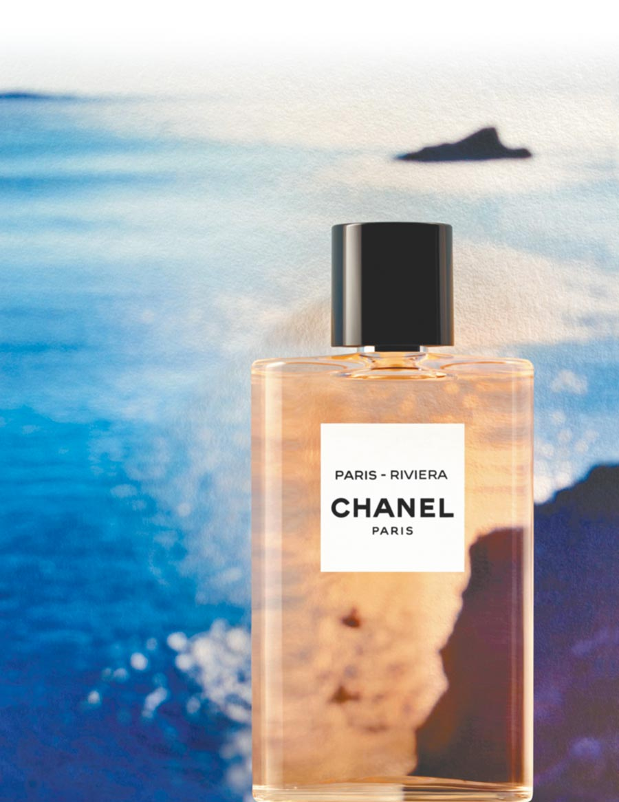LES EAUX香奈兒淡香水系列巴黎蔚藍海岸125ml,4980元。(香奈兒提供)