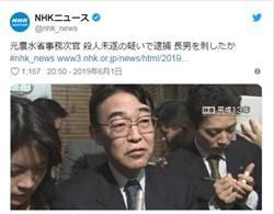 震撼!日本前高官大義滅親 刺死44歲啃老兒
