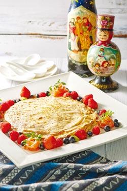 俄式美學 食尚風華 台北福華推出俄羅斯美食節