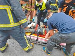 汙水道水壓爆管 工人1死1傷