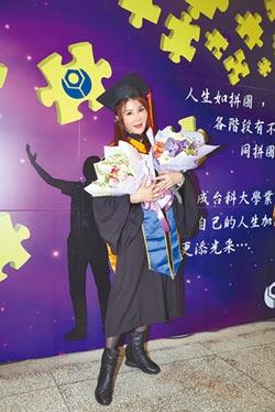 楊麗菁日睡5小時拚出雙碩士