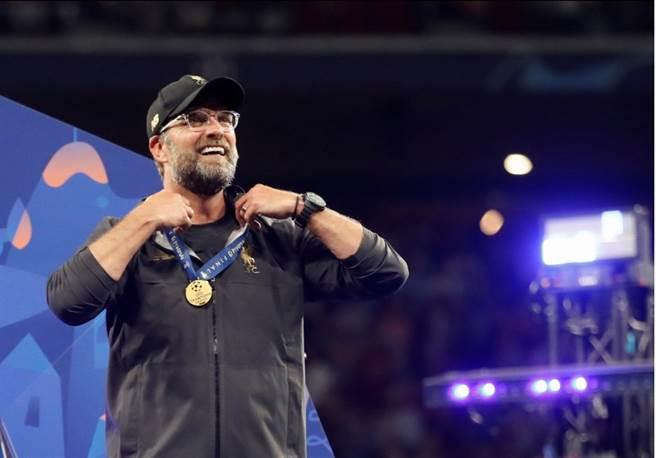 德籍主帥柯洛普贏得生涯首座歐冠冠軍。(路透)