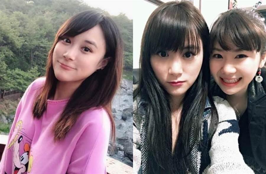 江宏傑姊姊擁女神級美貌。(圖/翻攝自推特)