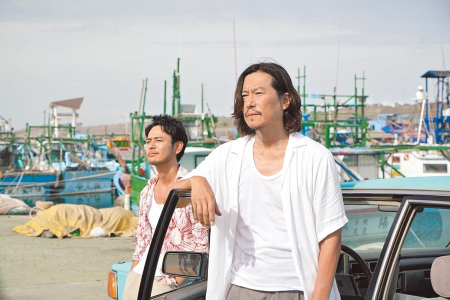 妻夫木聰(左)和豐川悅司兩人上個月已來台宣傳。