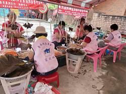 應景兼作公益  台南地區農會家政班綁粽送弱勢