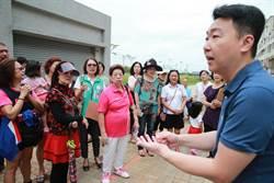 台中市新東海活動中心剩一半 里民不滿
