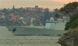 陸三艘軍艦「突然訪問」雪梨港    澳總理:是回訪