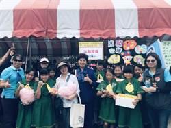 慶祝女童軍節  苗縣學生辦市集做愛心