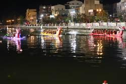 台南龍舟賽3日晚間開幕 近4000名選手運河競槳