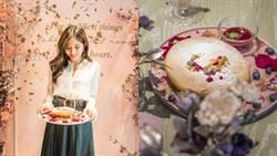 Q軟麻糬和起司內餡超滿足!夏日限定的絕美花療系甜點