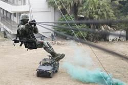 陸軍特戰繩索技術 投入山難搜救