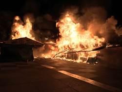 韓造勢時機巧合 花蓮東大門夜市祝融排除縱火
