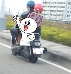 正妹坐車姿勢專業 網嘆年輕真好!