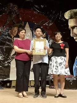 曾兩度獲總統教育獎 嘉義高中視障生陳柏翰勇敢追夢