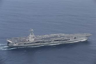 美福特號航母自衛系統完成最終測試 擊落雙目標