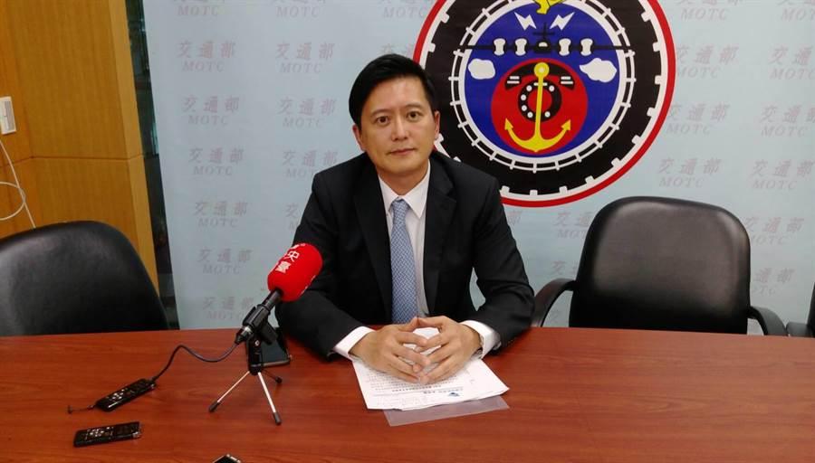 航港局副局長陳賓權說明補助辦法。圖:張佩芬