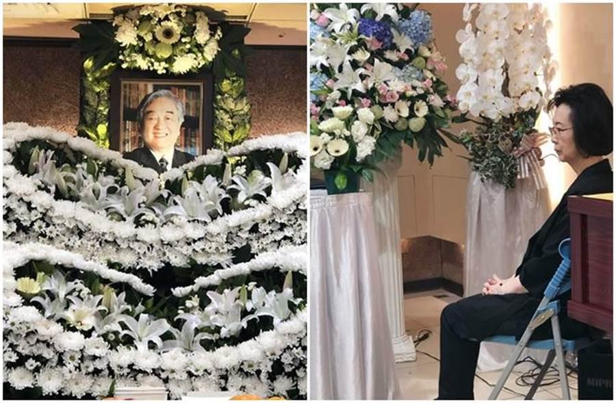 瓊瑤悲痛證實丈夫平鑫濤逝世。(取自瓊瑤臉書)