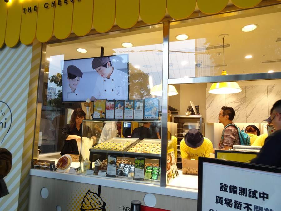 PABLO 2號店即將在6月5日在台中新光三越一樓開幕。(馮惠宜攝)