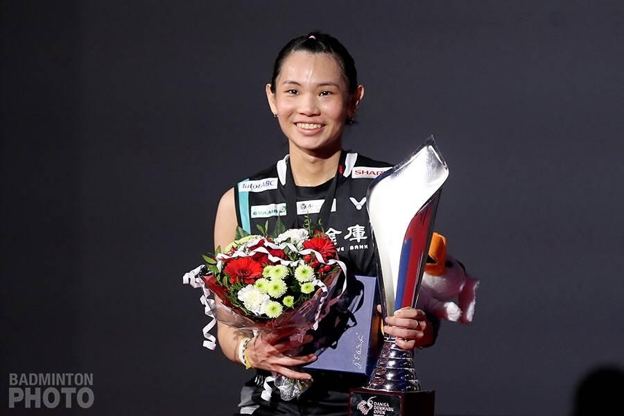 戴資穎世界球后寶座達到133周,約兩個月沒比賽的她,下一場國際賽是7月中印尼公開賽,將是她世界第一保位戰關鍵戰役。(資料照/Badminton Photo提供)