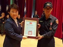 表揚66名官警 盧秀燕勉勵有3心