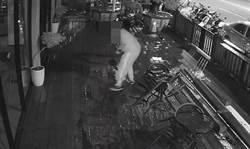 將開幕咖啡店遭潑漆 竹東警速破案