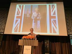 為慶英國女王93歲生日 唐凱琳盼增進台英各界合作