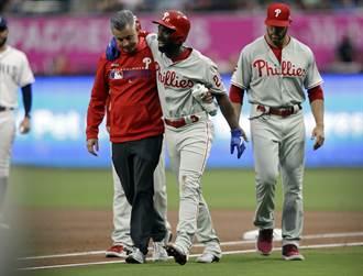 MLB》跑壘受傷本季報銷 麥卡勤十字韌帶斷裂