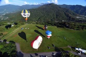 台灣國際熱氣球嘉年華 6月29日起high翻整個夏天