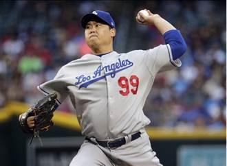 MLB》貝林傑補救失誤 柳賢振成大聯盟雙冠王