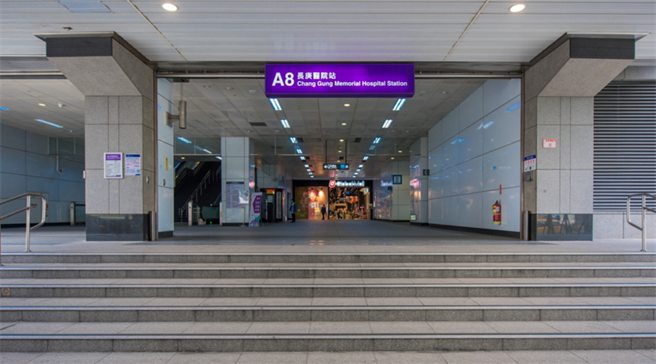 ▲A8長庚醫院站,生活機能成熟。(圖/業主提供)