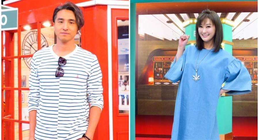 王少偉(左)、陳珮騏。衛視中文台提供