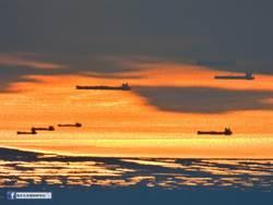 阿里山遠眺台灣海峽「無敵艦隊」