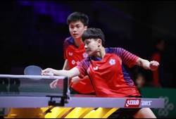 金牌混雙組合香港桌球賽進8強